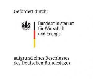 Gefördert durch: Bundesminsterium für Wirtschaft und Energie aufgrund eines Beschlusses des Deutschen Bundestages